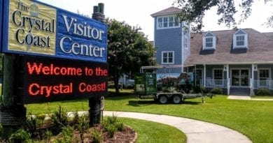 Visitor Center in Morehead City NC and Carteret County on the Crystal Coast