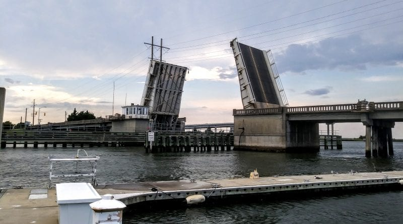 Grayden Paul bridge in Beaufort closes