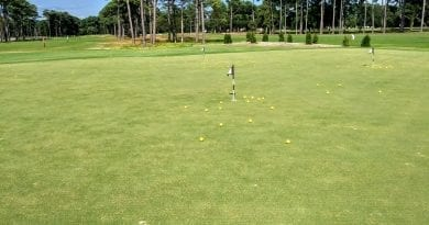 List of public golf courses in Carteret County NC in Atlantic Beach, Morehead City, and Cape Carteret