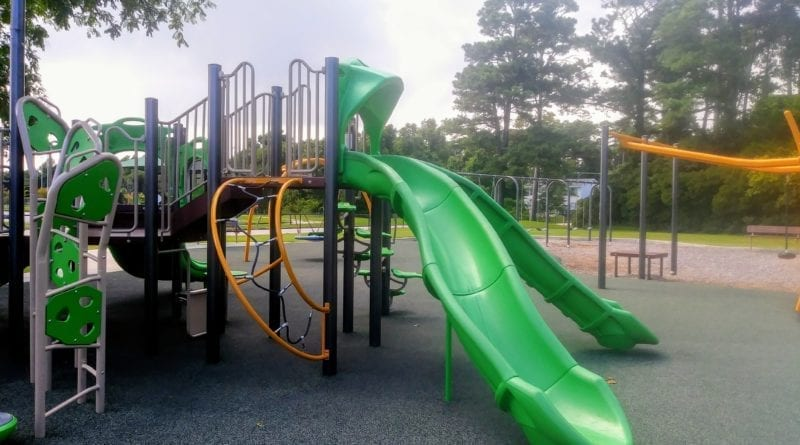 Swinson Park Kids Playground in Morehead City