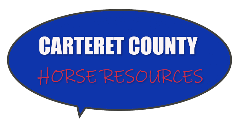 NC Carteret County horse stables, kids lessons, veterinarian care, riding trails information