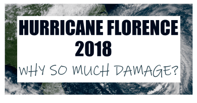 Why did Hurricane Florence cause so much damage and so strong?