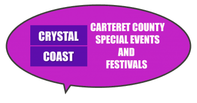 festivals and special events in Carteret County NC for kids and families to help charities.