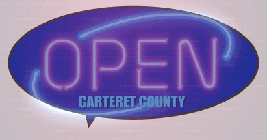 What is open 24 hrs a day in Carteret County NC?