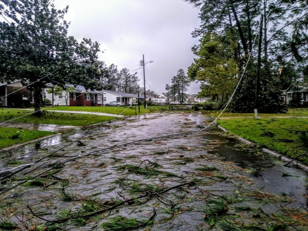 power lines all over the road 2018