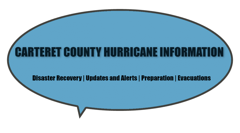 Carteret County NC hurricane information, updates, alerts, preparations, and evacuations
