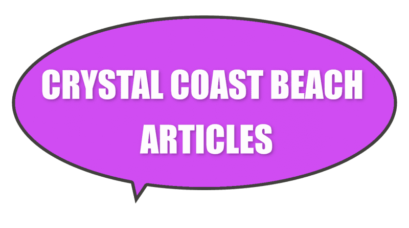 Tourism related Crystal Coast beaches articles