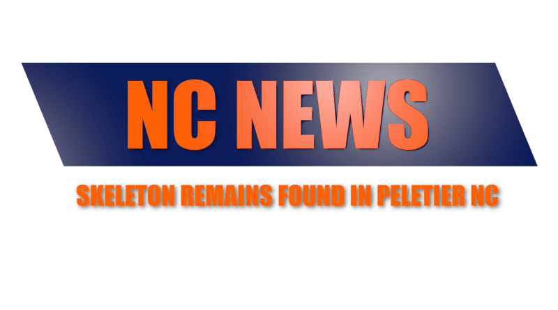 Peletier NC Skeleton Remains