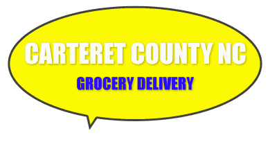 Grocery delivery in Carteret County NC