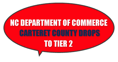 Carteret County NC economy tier 2
