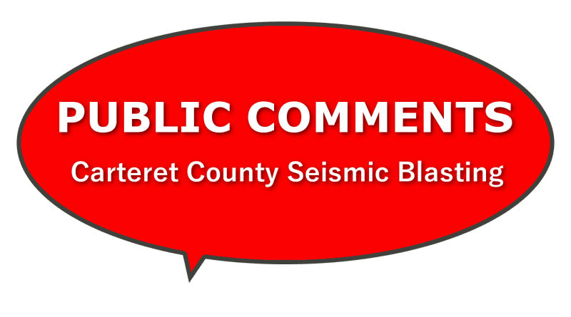 Learn about Carteret County Seismic Blasting in NC