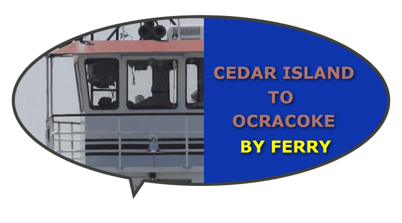 Schedule fee Cedar Ocracoke Ferry NC