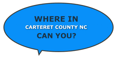 NC Carteret County where can you find