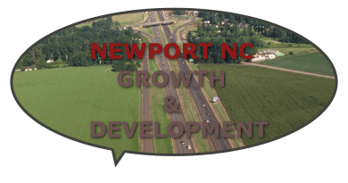 Growth development Newport NC town turns to city
