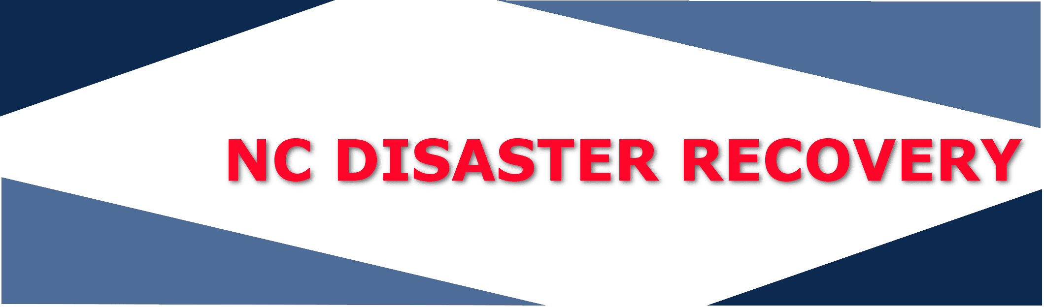 official county emergency disaster help in NC