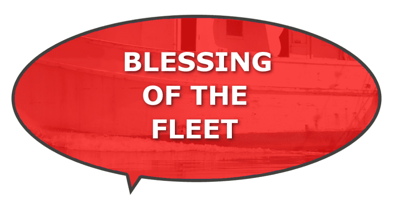 blessing commercial fishermen seafood