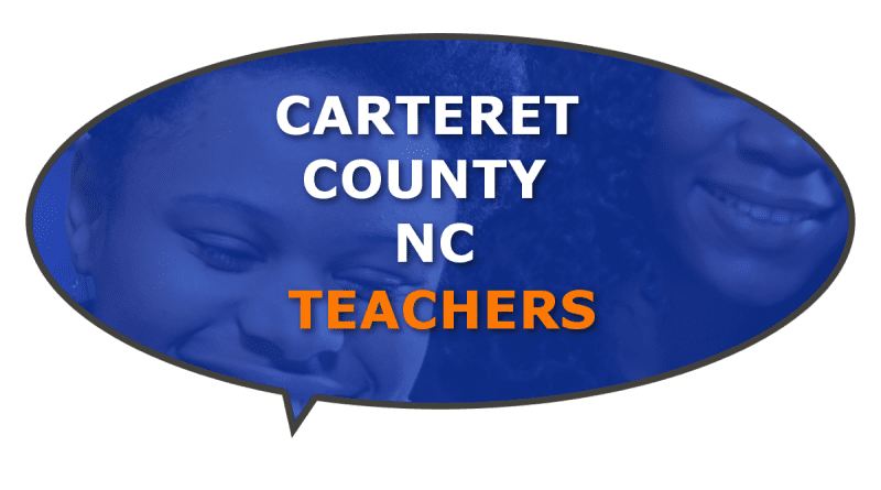 County teachers awards, classroom, in NC
