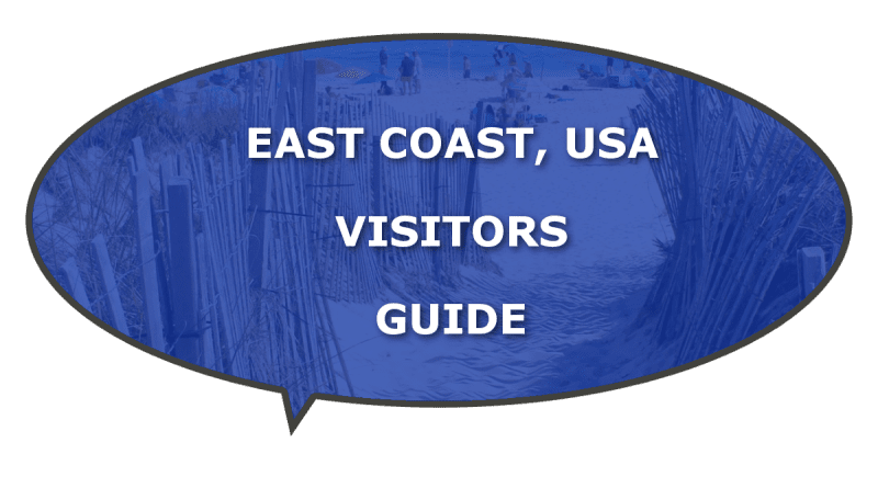 USA East Coast information for visitors