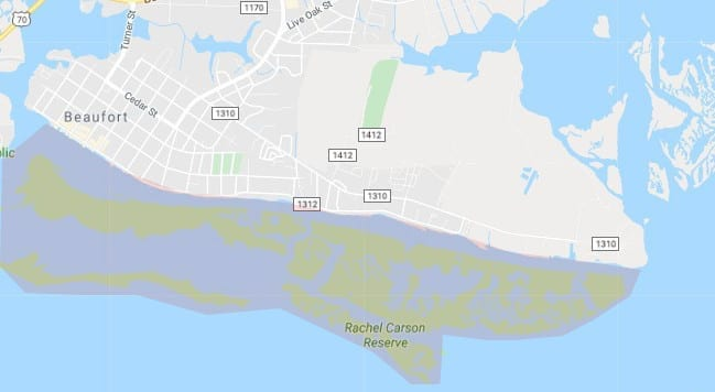 Kayak rentals in Carteret County
