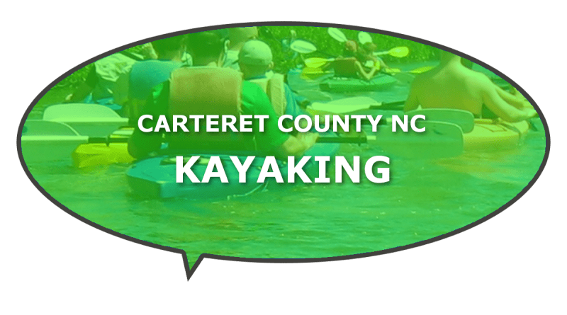 Carteret places to go kayaking