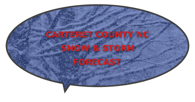 winter storm snow Carteret NC forecast