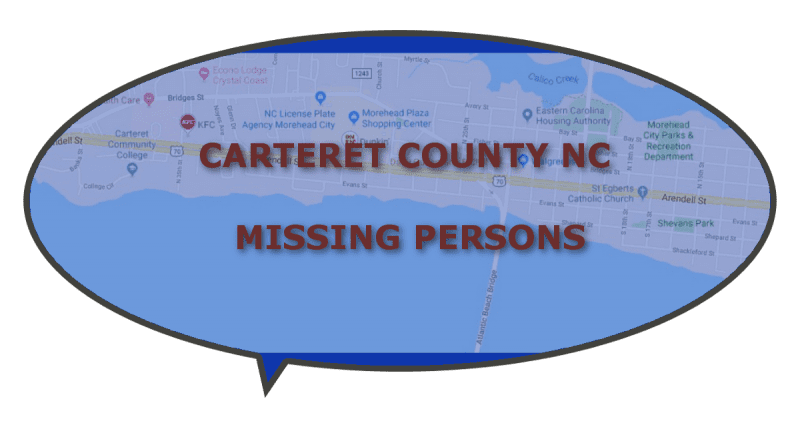 Welfare Check Carteret Missing NC