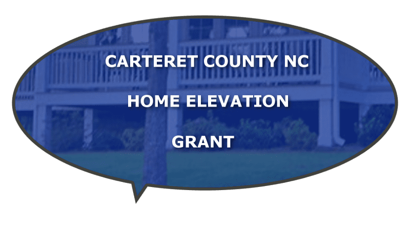 Carteret grant lifting home structures