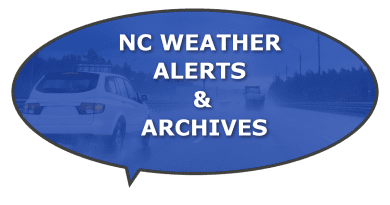 NC County storms, hurricane snow