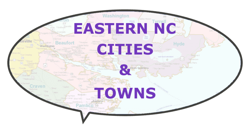 tourism eastern NC cities to travel