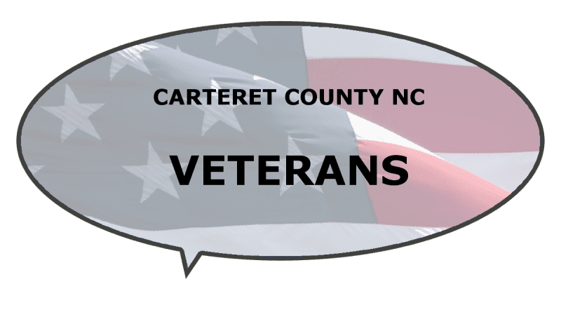 services, support, events veterans Carteret NC