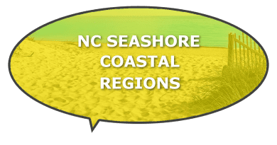 coastal seashore information in NC