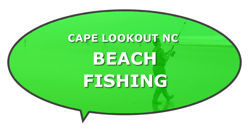 Recommended beach fishing Cape Lookout NC