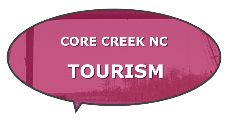 Carteret Core Creek NC tourism things to do
