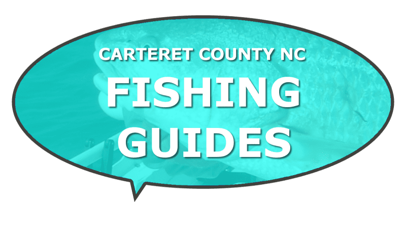 Inshore fishing guides Carteret NC waters