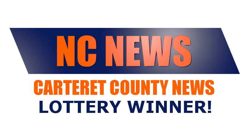 who won the lottery in Morehead City NC?
