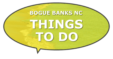 The island of Bogue Banks Carteret County