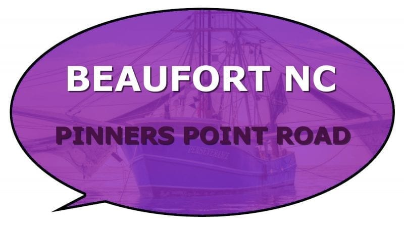 Pinners Point Information Beaufort NC