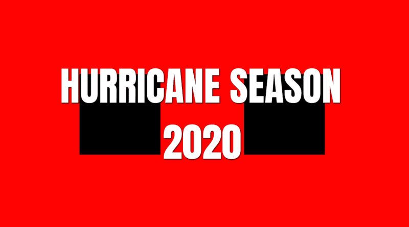 NC Hurricane Season 2020 Atlantic