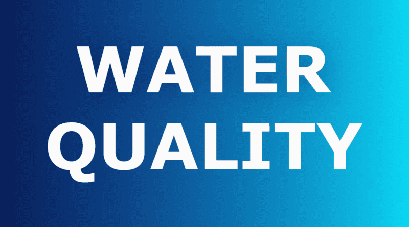 County water quality testing in NC