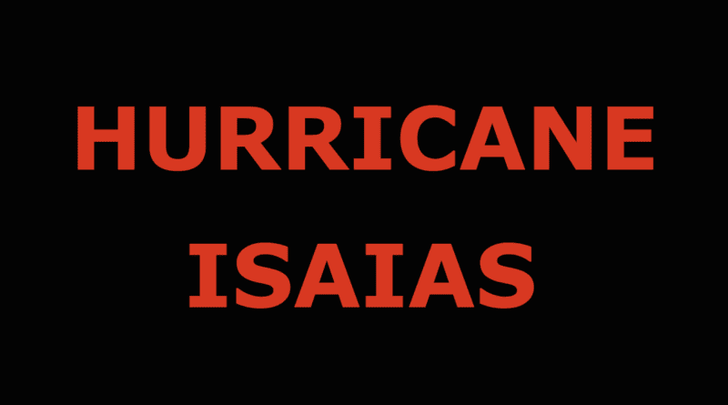 Isaias threatens Carteret County NC