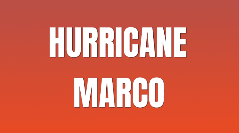 Marco threatens New Orleans Pontchartrain