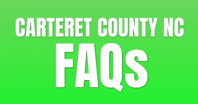 Frequently Asked Questions about Carteret NC