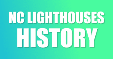 historical lighthouses of NC