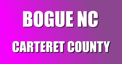 Bogue information in Carteret NC
