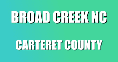 Carteret NC Broad Creek data