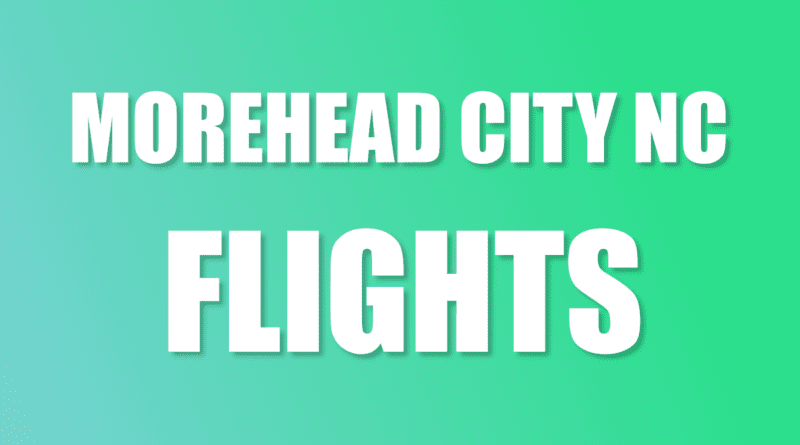 Are commercial flights Morehead NC?