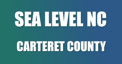 Carteret NC Seal Level Information