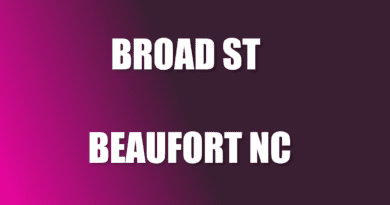 Broad St information Beaufort