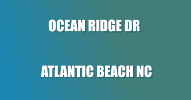 street Ocean Ridge Atlantic NC