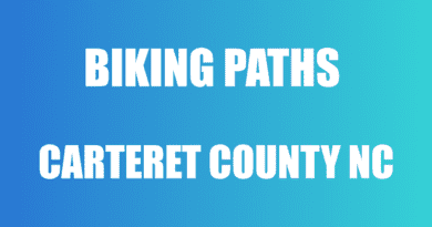 trails and paths for biking in Carteret County